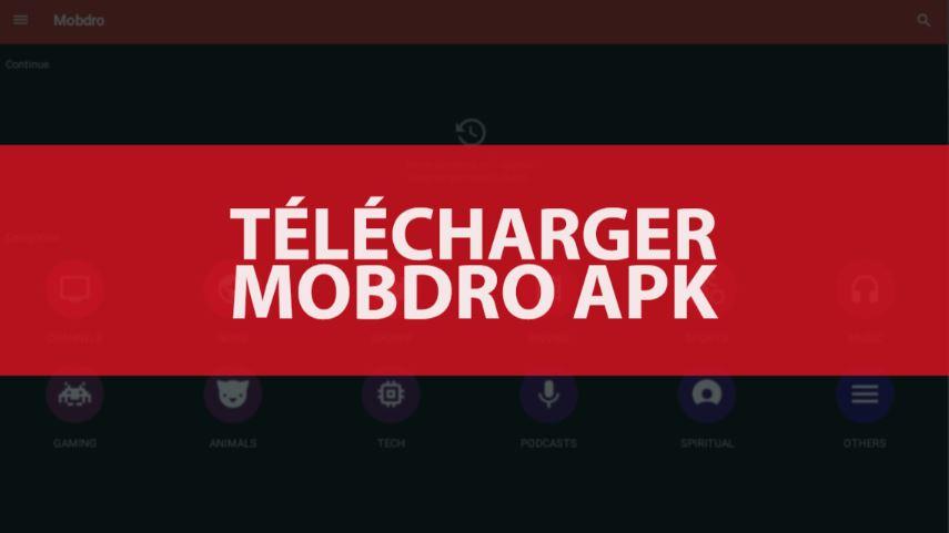 mobdro gratuit pour tablette