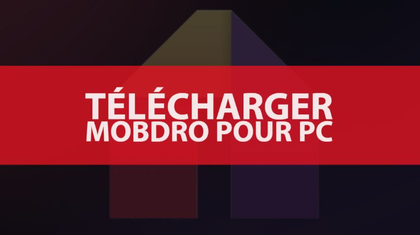 telecharger mobdro pc